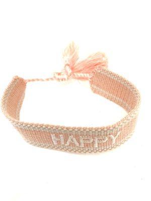 Armband happy pink