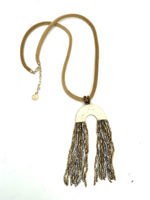 Ketting flossy brown