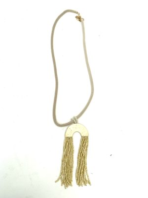 Ketting flossy gold