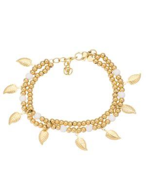 IXXXI Armband Dazzling leaves goud