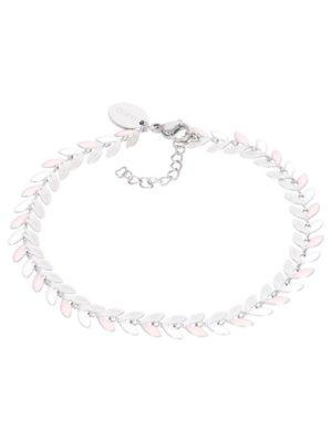IXXXI Armband Malediven pink zilver