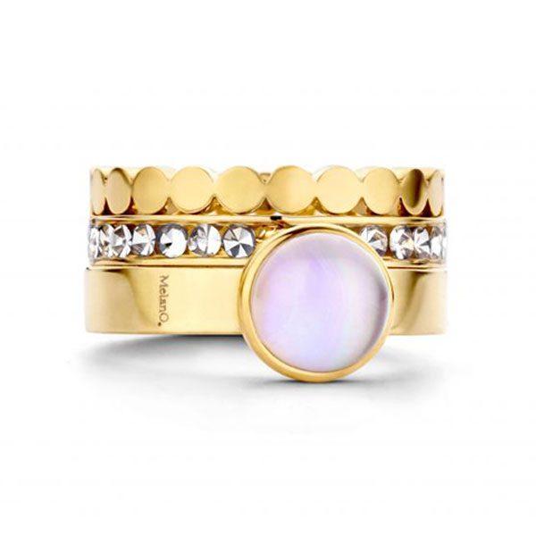 MelanO ring goud