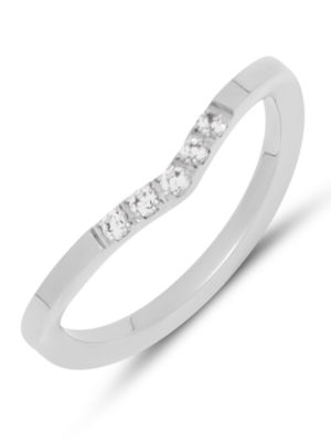 Melano Friends Charly CZ Ring zilver