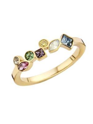 Melano Friends Ring goudkleurig Mosaic Hue