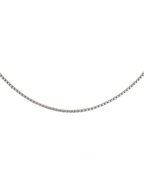 Melano collier zilver