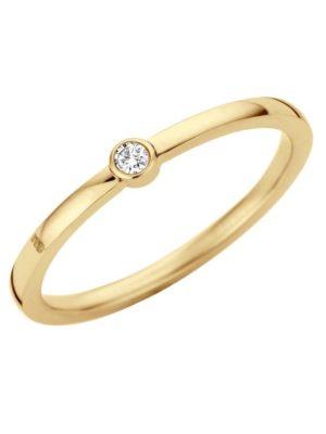 Melano friends mini cz ring goud