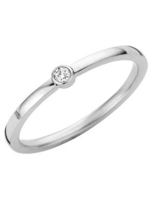 Melano friends mini cz ring zilver