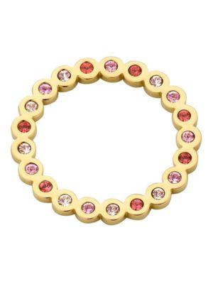 Melano hangertje circle roze goud