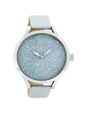 OOZOO Timepieces Blauw Horloge C8645