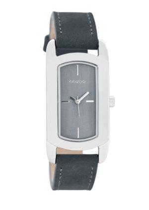 OOZOO Timepieces Blauw horloge C8378 (37 mm)