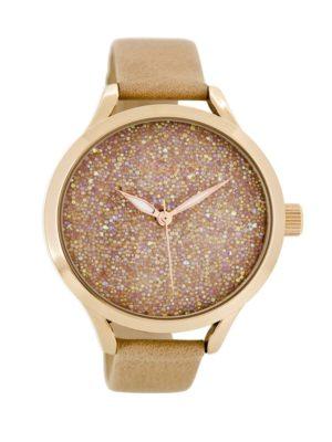 OOZOO Timepieces Grijs Horloge C8646