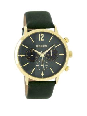 OOZOO Timepieces Groen horloge C8246 (40 mm)