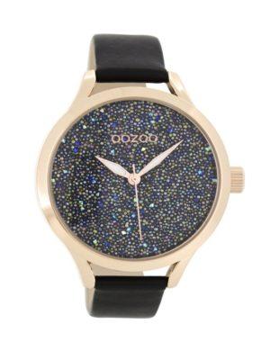 OOZOO Timepieces Zwart Horloge C8649