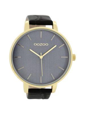OOZOO Timepieces Zwart Horloge C8664