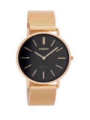 OOZOO Vintage Rosegoud Horloge C8813 (36 mm)