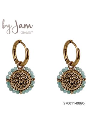 Oorring Sweet Candy ocean Blue By Jam