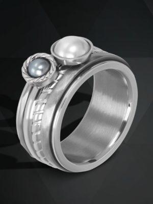 iXXXi ring set zilver royal