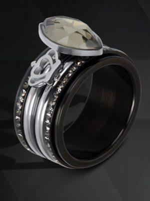 iXXXi ring set zwart royal