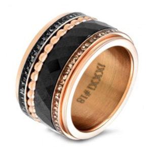 iXXXi ring zwart goud