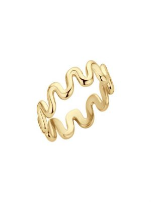 Melano crinkle ring