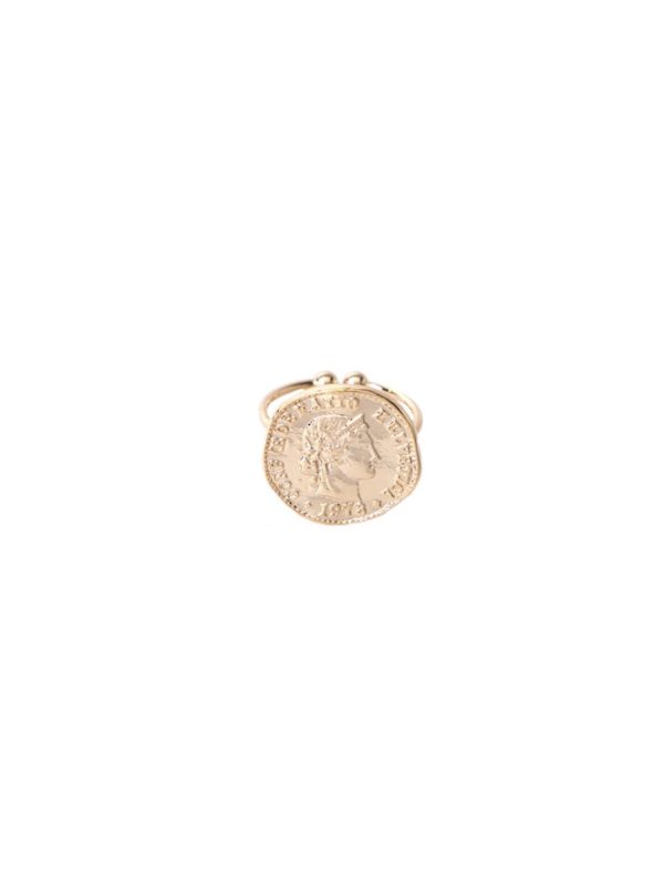 ring coin goud