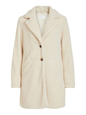 Vila viliosi teddy coat/su birch